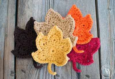 Fall Leaves Crochet Pattern