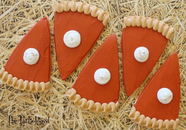 Buttercream Pumpkin Pie Cookies