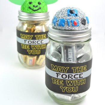 Star Wars Inspired Mason Jar Gifts