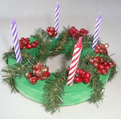 Child-Sized Advent Wreath