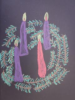 Advent Wreath Art