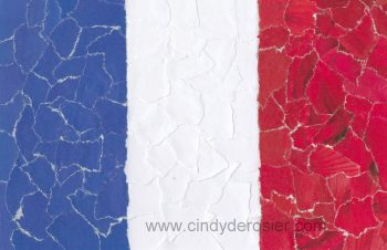 French Flag Mosaic