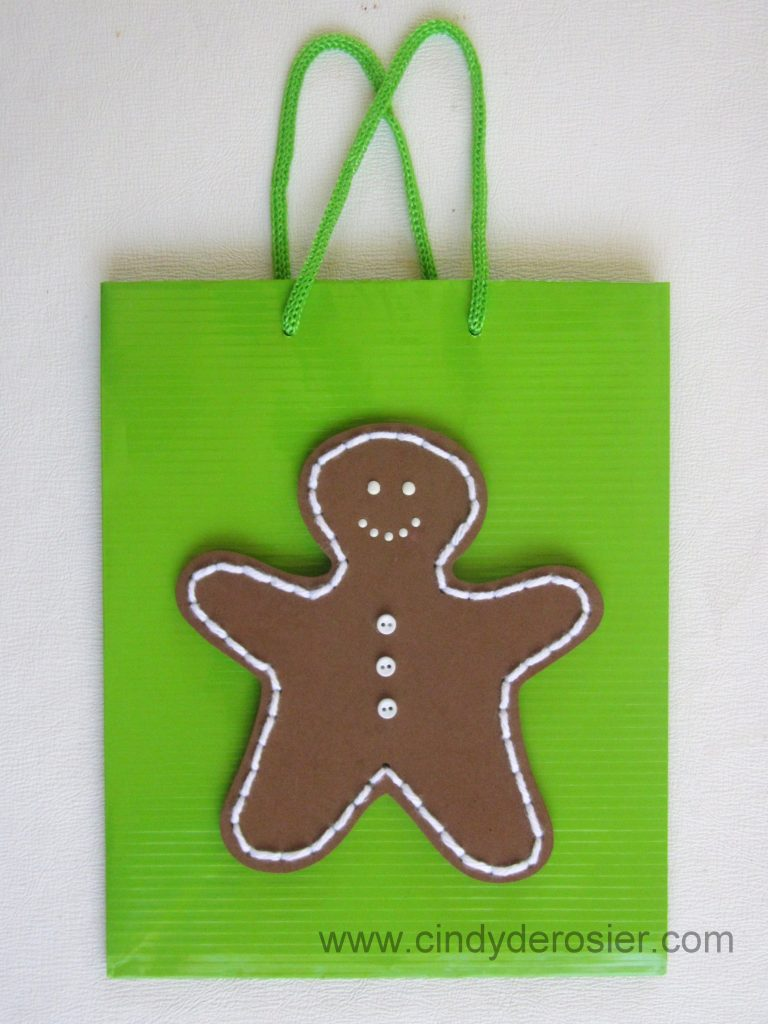 Craft Foam Gingerbread