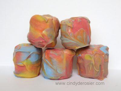 Marbled Marshmallows