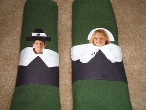 Personalized Pilgrim Napkin Rings