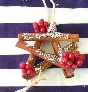 Cinnamon Stick Christmas Star