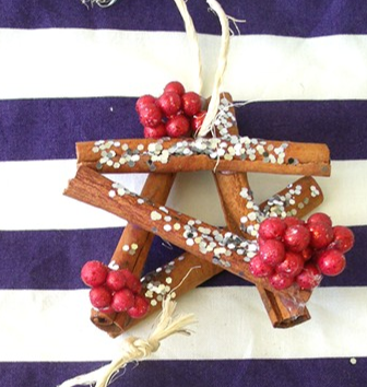 Cinnamon Stick Christmas Star