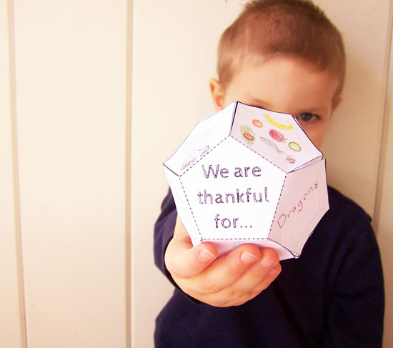 Printable 3D Thanksgiving Tetradecahedron