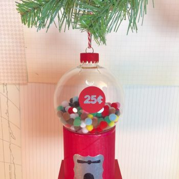 Gumball Machine Ornament