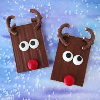 Kit-Kat Candy Bar Rudolph