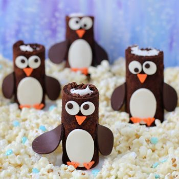 Cake Roll Penguins