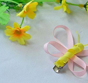 Ribbon Butterfly Barrettes