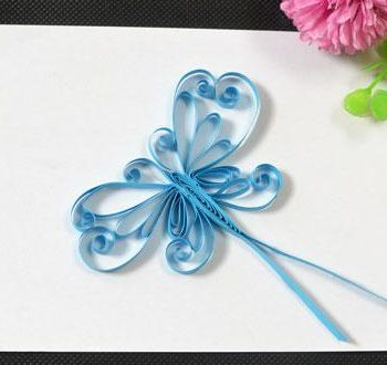 Quilled Butterfly Card