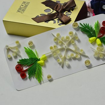 Quilled Snowflake and Tree Cards