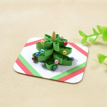 3-D Quilled Christmas Tree
