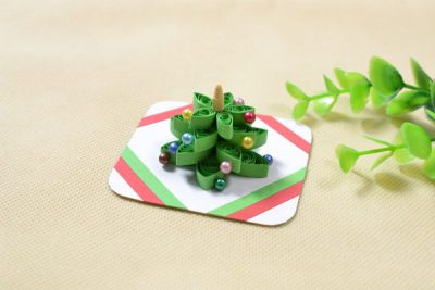 3D Quilled Christmas Tree