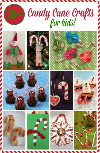 Candy Cane Crafts for Kids