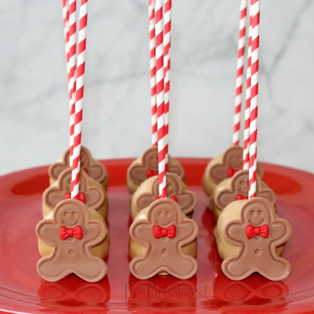 Gingerbread Cake Pops
