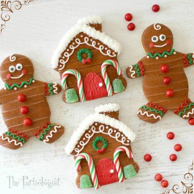 Gingerbread-Inspired Sugar Cookies