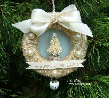 Mini Ribbon Wreath Ornaments