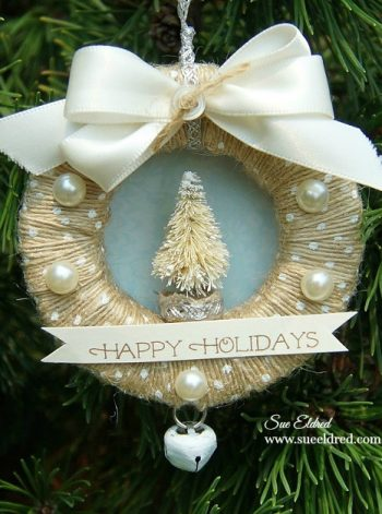 Mini Ribbon Wreath Ornament