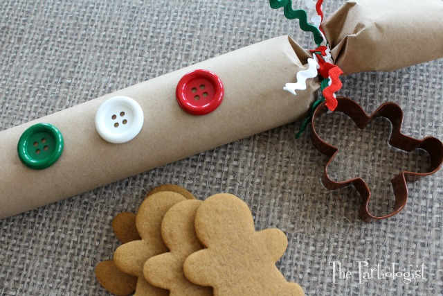 Gingerbread Cookie Dough Gift