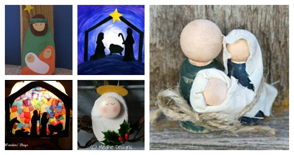 20 Nativity Crafts For Kids Fun Family Crafts