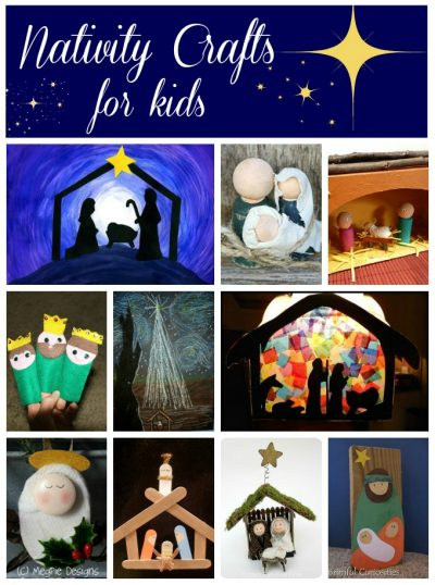 20+ Nativity Crafts for Kids