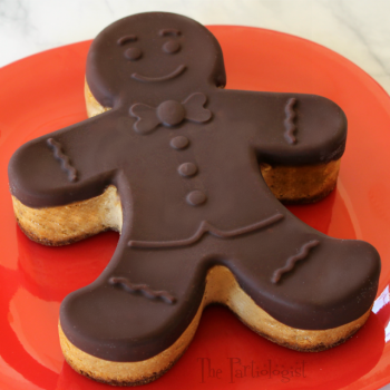 Chocolate Gingerbread Cheesecake