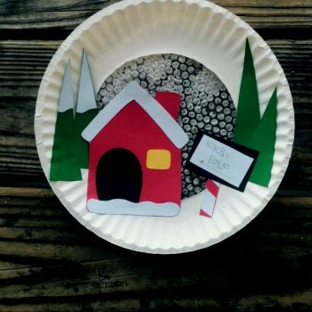 Paper Plate North Pole