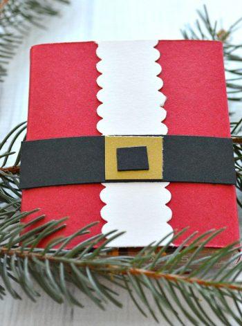 Santa Candy Wrapper