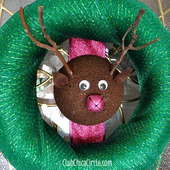 Reindeer Holiday Wreath