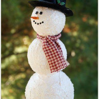 Foam Snowman