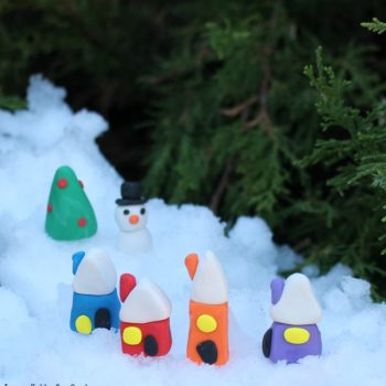 Snowy Fairy Village