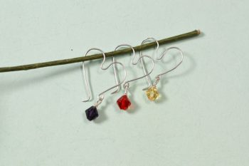 Easy Wire-Wrapped Heart Earrings