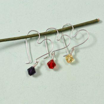 Easy Wire-Wrapped Heart Earrings