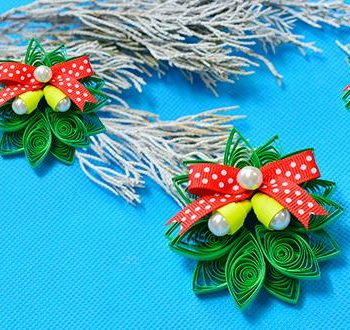 Quilled Christmas Wreath