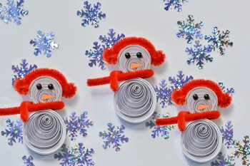 Quilled Snowman Craft