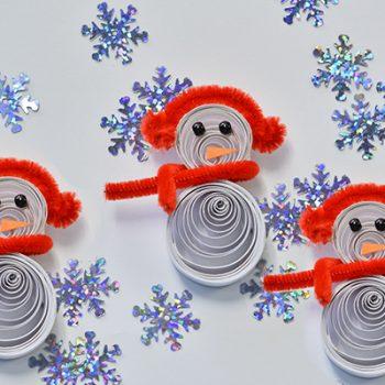 Quilled Snowman Craft