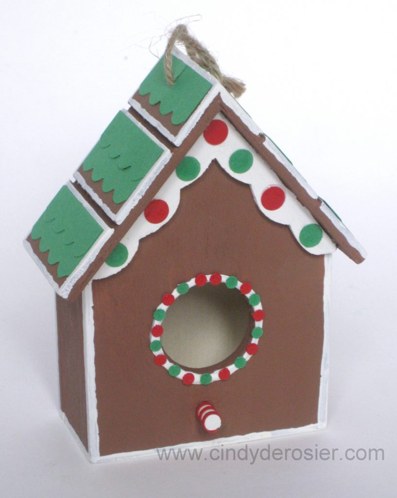 Gingerbread Birdhouse