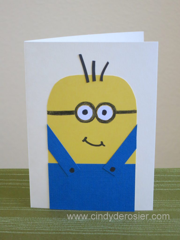 'Thanks a Minion!' Card
