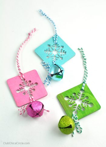 Easy Snowflake Ornaments