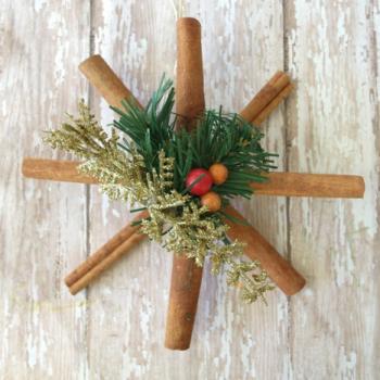 Cinnamon Stick Snowflake