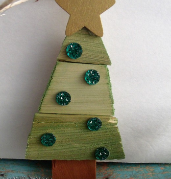 Rustic Tree Ornament