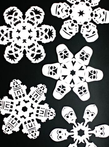 Star Wars Snowflake Designs