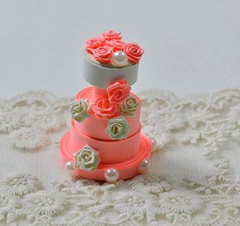 3D Paper Cake