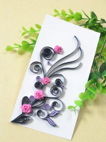 Quilled Valentine's Day Card