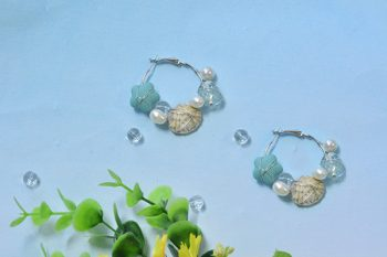Ocean-Inspired Earrings