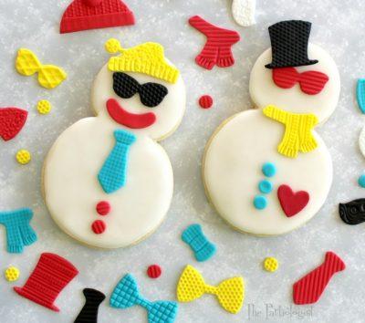 Snowmen Dress Up Cookies
