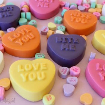 Conversation Heart Oreos